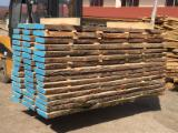 Hardwood  Unedged Timber - Flitches - Boules - White oak lumber unedged 50mm AD/KD