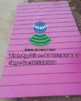 Various T-grooved slotted Melamine MDF