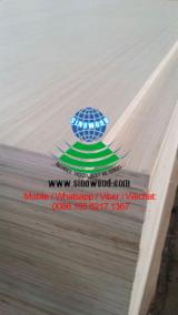 White and Red Engineered Plywood for Furniture for Middle East