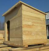 Garden Products - Fir (Abies alba, pectinata), Dog House