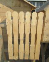 Garden Products - Fir (Abies alba, pectinata), Garden Wood Tile