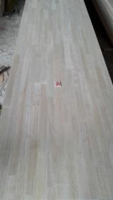 Discontinuous Stave  Solid Wood Panels - Rubber wood panels