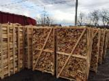 null - Firewood cut 0.33 cm in pallets