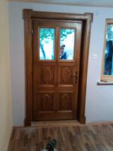 Wood Doors, Windows And Stairs - Entrance doors and interior wood and laminate wood