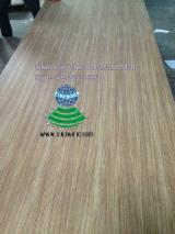 3ft x 7ft x3.6/5mm Quarter cut teak veneered plywood for doors