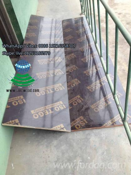 Cheap Price 5 8 Reused Times Brown Or Black Film Faced Plywood