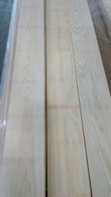 Flooring And Exterior Decking - White Ash Top Layer For Thermo Treatment/ Bleaching