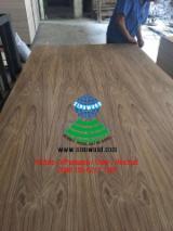Natural C/C teak veneered plywood and EV teak plywood