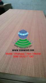 2.5-18mm Q/C sapelli veneered plywood with hardwood core