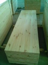 Massivholzplatten Zu Verkaufen Ukraine - Massivholzplatte, Kiefer  - Rotholz