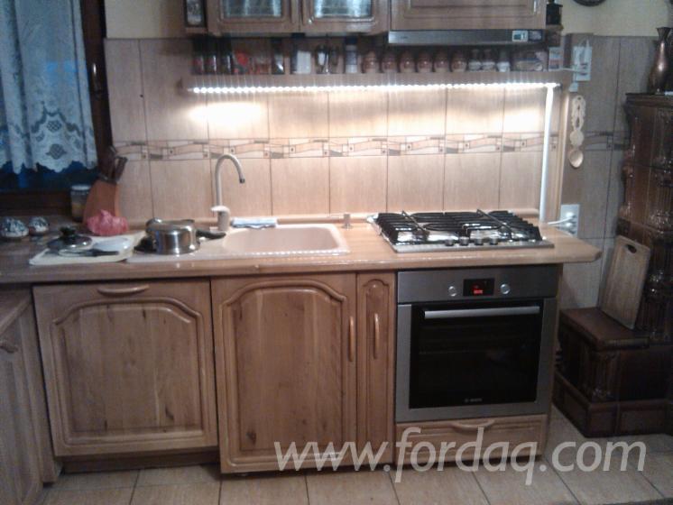 Wholesale Traditional Oak Kitchen Storage Romania