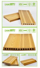 China Exterior Decking - Wood plastic composite exterior decking