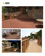 China Exterior Decking - WPC wood plastic composite extruded solid decking