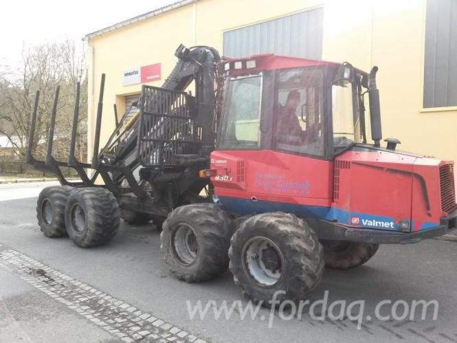 Used-Valmet---18352-H-830-1-2004-Forwarder-in