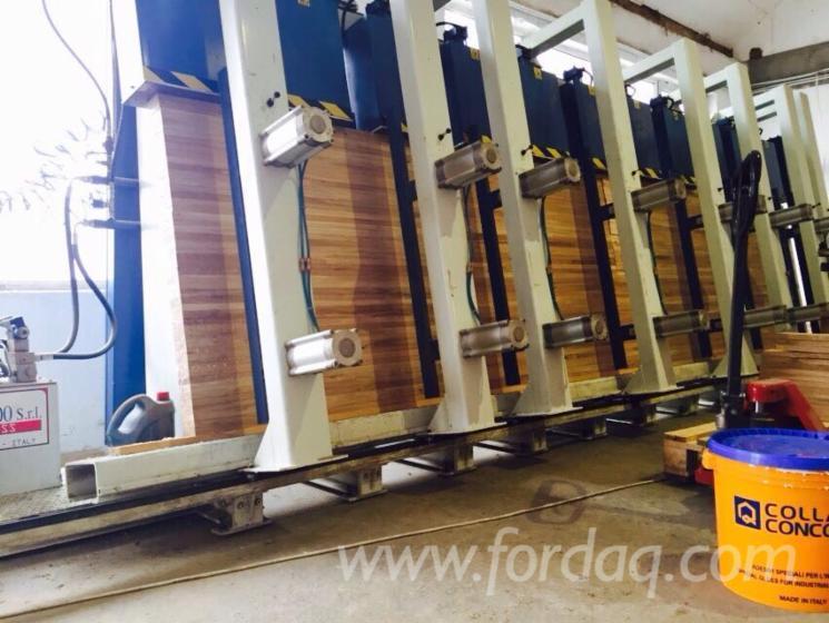 Used sormec 2004 laminated wood press for sale romania for Laminated wood for sale