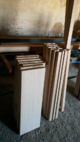 Trepte, Contratrepte - Elemente din lemn masiv pentru scari