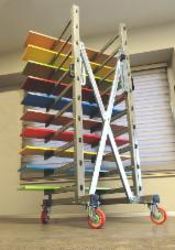 Surface Treatment And Finishing Products For Sale - KRAF - MOBILE RACK SYSTEM