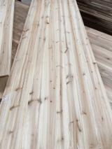 Glulam Beams - Cedar wood finger jointed board
