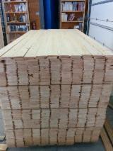 Toptan Ahşap Cephe Kaplamaları – Duvar Panelleri Ve Profiller - Solid Wood, Ladin  - Whitewood, İç Duvar Kaplama