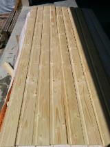 Sprzedaż Hurtowa Elewacji Z Drewna - Drewniane Panele Ścienne I Profile - Świerk - Whitewood, Panele Ścienne Wewnętrzne