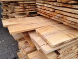 Beech steamed unedged timber B/C grade sawnfresh or KD