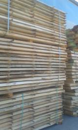 Hardwood  Unedged Timber - Flitches - Boules - Tilia Loose Timber 27-100 mm
