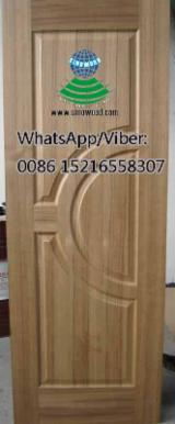 Engineered Panels China - 3mm, BB/CC grade, Teak door skin for doors, E2 glue