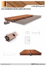 Exterior Decking  - Nova Thermowood ASH Decking