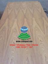 Hardwood Core E1 E2 Natural Teak Veneered Plywood C/C