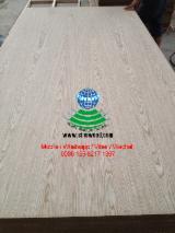 2.5-18mm C/C EV and Natural Ash Veneered Plywood with Hardwood Core