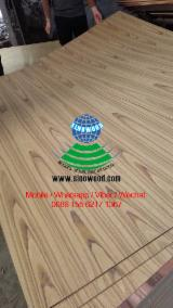 null - 3.6*915*2135MM Red Oak and Teak Plywood for Door