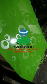 Green, reed bubble design melamine mdf new design