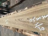 Струганий Шпон - Натуральний шпон, Тікове дерево, Шпон струганий, радіальний, гладкий