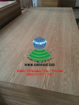 Natural ash veneered mdf board, crown cut, e2, AAA, AA, A+