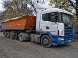 Find best timber supplies on Fordaq - Used Scania 2003 Short Log Truck Romania