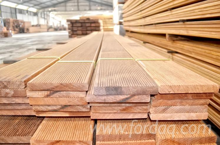 Merbau intsia bijuga kwila decking for sale for Timber decking for sale