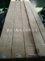 Sliced Veneer - Dyed Figured Aningre veneer