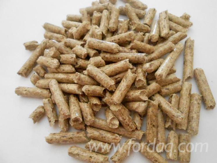 Wholesale all coniferous wood pellets from russia
