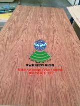 EV and natural bubinga veneer mdf board from China