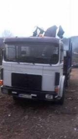 Romania Forest & Harvesting Equipment - Used Longlog Truck Romania