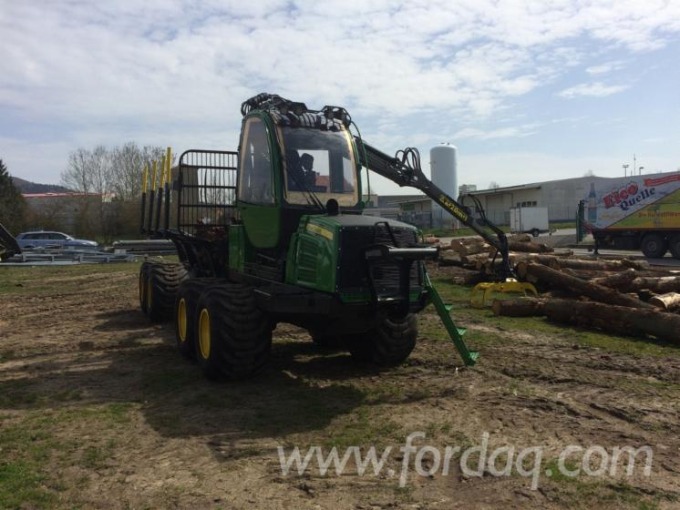 Used-2011-John-Deere-810E-Forwarder-in