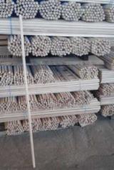 Vand bete rotunde de lemn pentru steag - producator -