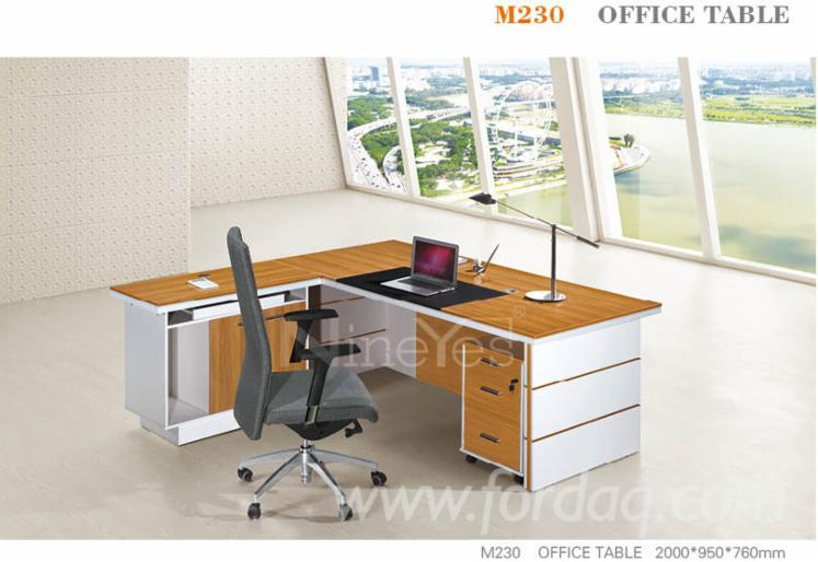 M230 Wood Office Furniture Office Table, with strong MDF and