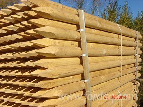 Vend piquets tuteurs pin bois rouge ukraine - Tuteur bois brico depot ...