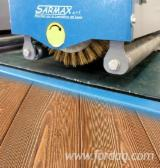 Woodworking Machinery  Supplies Italy New SARMAX RUSTICATRICE - SPAZZOLATRICE in Italy
