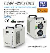 S&A Woodworking Machinery - S&A closed loop chiller for Laser Scan Engraving Photo's