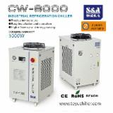 S&A Woodworking Machinery - S&A water cooled chiller CW-6000 for 13kw spindle HITECO