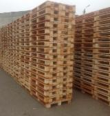 Lithuania Pallets And Packaging - Wood pallets (1200x800/1200x1000/600x800)