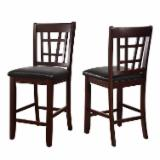 Dining Room Furniture - Traditional Rubberwood Bar Chair/Stool