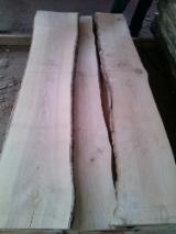 毛边材-圆木剁, 白色灰